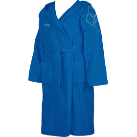 arena Zodiaco Bathrobe Kids royal-metallic silver